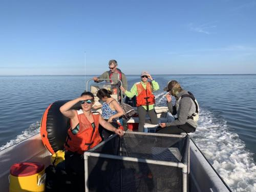 Boat for Synoptic 2019